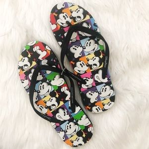 New Disney Parks flip flops mickey mouse 7